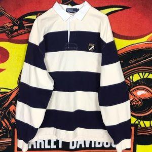 Polo Ralph Lauren Rugby Long Sleeve Polo Shirt XL